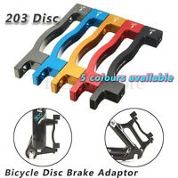 Rear Post IS Mount Disc Brake Adaptor 203mm 8 Inch Rotor Bick 5 Colours PM Fork