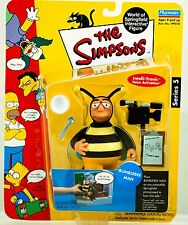 BRAND NEW Playmates Toys Simpsons Series 5 Bumblebee Man Action Figure WOS World