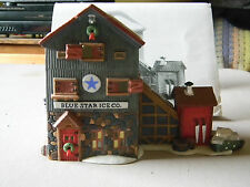 "Dept 56 ""Blue Star Ice Co."" # 56472-New England Village- Good condition"