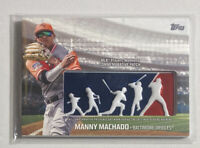 2018 Topps Series 1 MANNY MACHADO Players Weekend Commemorative Patch #PWP-MM