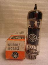 GE General Electric 6BM8 ECL82 Electronic Vacuum Audio Radio Tube In Box NOS