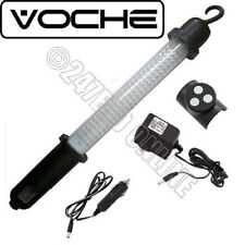 VOCHE 100 LED RECHARGEABLE CORDLESS WORK LIGHT INSPECTION LAMP TORCH + CHARGERS