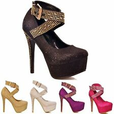 """Unbranded Women's Very High Heel (greater than 4.5"""") Clubwear Shoes"""