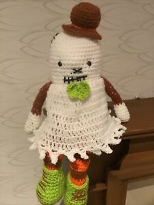 Ghost To Cuddle Handmade New Great For Halloween Combine Postage & Offers
