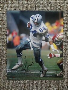 Jay Novacek signed 8x10 photo w/COA  #84 Dallas Cowboys