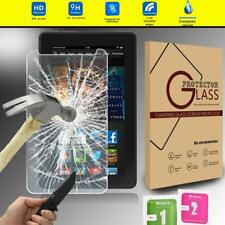 "Tempered Glass Screen Protector Cover For Amazon Kindle Fire HDX 7"" Tablet"