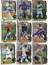 2015 Bowman BAILEY FALTER Signed Card autograph rc PHILLIES CHINO HILLS, CA
