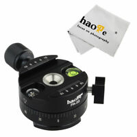Panoramic Panorama Pano Indexing Index Rotator Head for Tripod Monopod Ballhead
