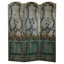 3 Panel Vintaged Double-sided Room Divider Screen - FD38600