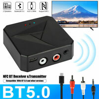 Aux RCA 3.5mm Support NFC USB Adapter Wireless Adapter NFC Receiver Audio Music