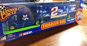 2002 Winners Circle 1/64 Trailer Rig NASCAR #2 Rusty Wallace Race Car Hauler