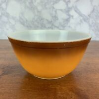 Vintage PYREX OLD ORCHARD Medium NESTING MIXING BOWL 402 1.5 Qt