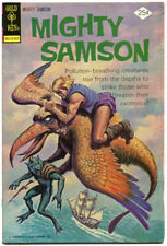 Mighty Samson 26 FN+ 6.5 Gold Key 1974 Post Apocalypse Science Fiction