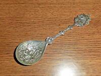 Vintage Souvenir Silver Plated Holland Calgary Canada Spoon