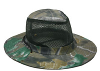 WOODLAND Camouflage Summer HAT BEACH FISHING HUNTING CAMO Hiking VENTED MESH