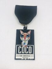 2020 Coconut The Cat Fiesta Medal