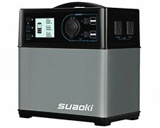 Suaoki 400Wh/120,000mAh Portable Solar Generator Lithium Ion Power Source Power