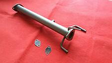 Downpipe tubo rimozione filtro FAP DPF Fiat sedici 16 1.9 120cv +Flange EGR inox