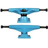 "TENSOR Skateboard Trucks ALUMINUM BLUE 5.25 (Pair) 7.87"" Axle"
