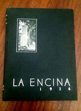 YEARBOOK 1936 La Encina Occidental College Los Angeles California 1936 **LOOK**