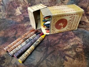 Vintage RUBENS CRAYOLA Drawing Crayon Set of 24 - BINNEY & SMITH New York
