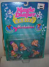 #3807** NRFC Vintage Galoob Magic Diaper Babies Merbabies Figures