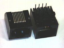 2x Modular-Einbaubuchse RJ45 8P8C 8 Kontakte Western-Buchse