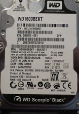 WD1600BEKT-60A25T1 160gb Sata Laptop Hard Drive