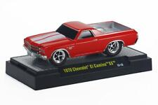 1970 Chevrolet El Camino SS rot, M2 Machines Ground Pounders (GP11A), 1:64
