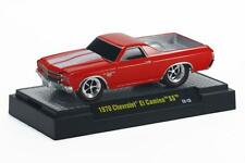 1970 Chevrolet El Camino SS rosso, m2 Machines Ground Pounders (gp11a), 1:64