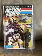 Vintage Gi Joe Action Force Hasbro Snake Eyes Euro 1985 UK MOC MOSC 20 Back New
