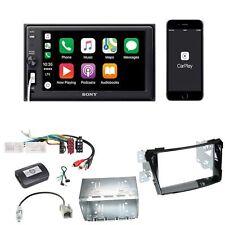 Sony XAV-AX1000 CarPlay Bluetooth USB Einbauset für Hyundai i40 VF