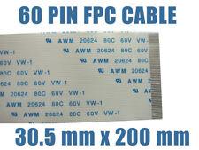 NAPPE ZIF LIF FPC AWM - 60 FILS - 30.5 mm x 200 mm
