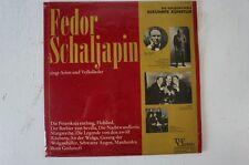 Fedor Schaljapin Arien Lieder Flohlied Wolgaschiffer Boris Godunoff (LP20)