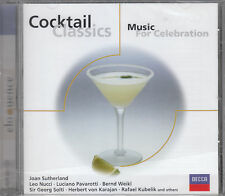 COCKTAIL CLASSICS MUSIC FOR CELEBRATION CD