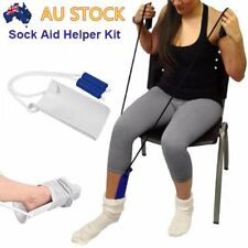 Sock Stocking Aid Puller Assit Disability old Aid Helper Terry Cloth Dressing FK