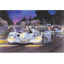 BMW V12 LMR Le Mans 1999 Winners by Nicholas Watts Limited Edition Print