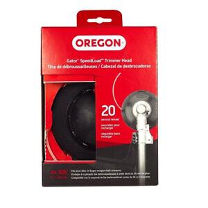 """Oregon Gator SpeedLoad 0.095"""" Gauge Large 5"""" String Trimmer Head Husqvarna 128LD"""