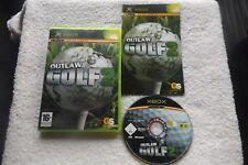Outlaw Golf 2 ORIGINAL XBOX V.G.C. Fast Post (Sport/Golf Game & complet)