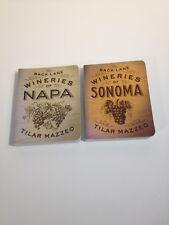 Back Lane Wineries of Napa, Sonoma, Tilar Mazzeo Wine Tasting Guide Book