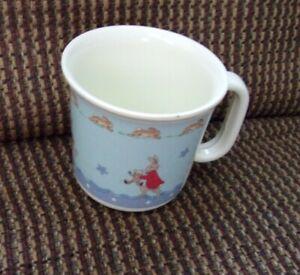Bunnykins Royal Doulton Plastic cup Baby Bunny with Kite 2005
