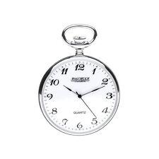 Designer - Jean Pierre of Switzerland - Sterling Silver Pocket Watch - G320