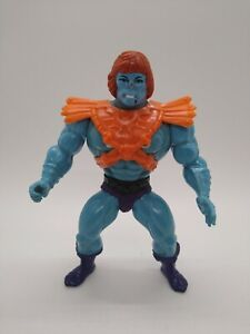 Faker 1981 He-Man Motu Masters of the Universe Vintage w/ Sticker Malaysia 00034