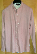Paul Smith (Size M) Smart Red (Small Checked) Long Sleeved Men's Shirt