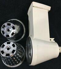 Vintage Nutone Food Center Shredder Slicer Cone Attachment Built In Cabinet RARE