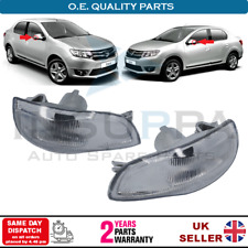 SIDE MIRROR INDICATOR LAMP LENS L&R FOR RENAULT LOGAN SANDERO THALIA DACIA