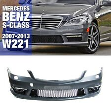 S63 S65 AMG Style Front Bumper W/O PDC Body Parts For Mercedes Benz 07-13 S W221