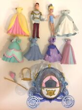 DISNEY Polly Pocket Cinderella Prince Charming figure Favorite Moments Coach LOT