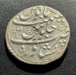 Afghanistan AH1187/2 Rupee Silver Coin: Taimur Peshawar