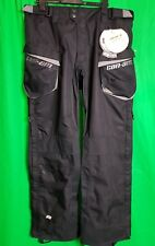 CAN-AM BRP MENS CROSS WATERPROOF MOTORCYCLE PANTS BLACK SIZE 30 TROUSERS